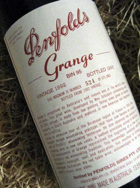 Penfolds Grange 1992 1500mL