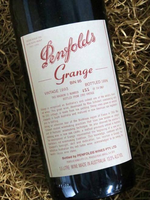 [SOLD-OUT] Penfolds Grange 1993 1500mL-Magnum