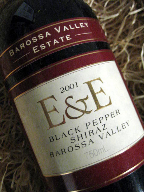 Barossa Valley Estate E&E Black Pepper Shiraz 2001
