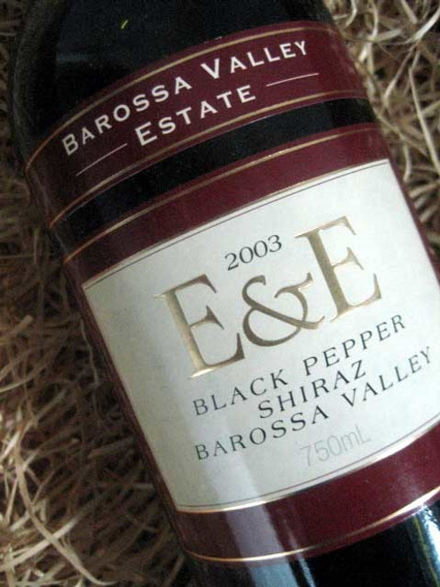 Barossa Valley Estate E&E Black Pepper Shiraz 2003