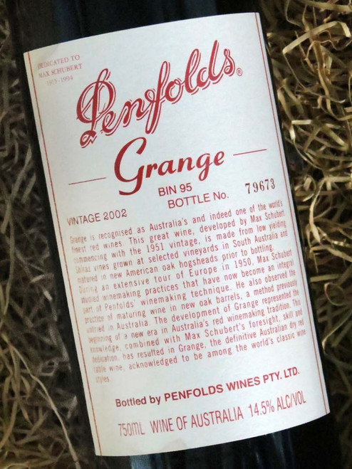 [SOLD-OUT] Penfolds Grange 2002