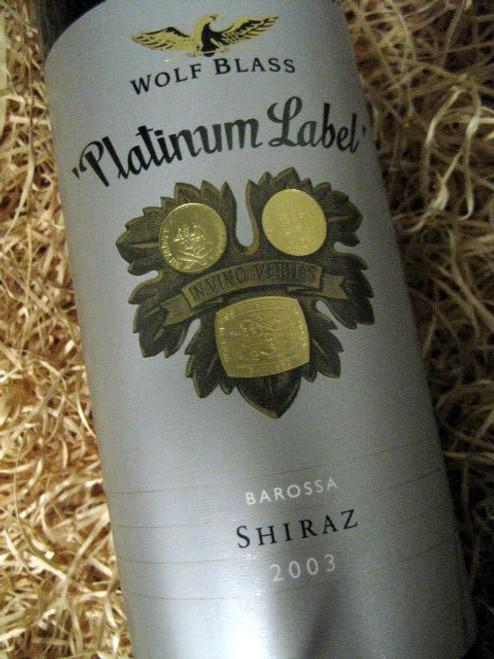 [SOLD-OUT] Wolf Blass Platinum Label Shiraz 2003