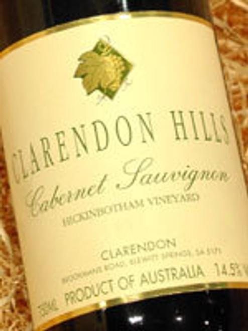 Clarendon Hills Hickinbotham Cabernet Sauvignon 2002