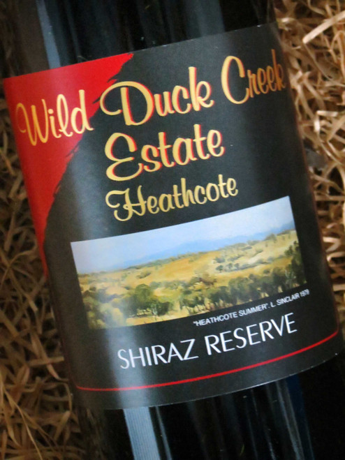 [SOLD-OUT] Wild Duck Creek Reserve Shiraz 2010