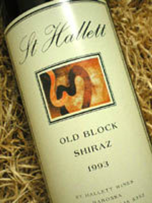 St Hallett Old Block Shiraz 1993