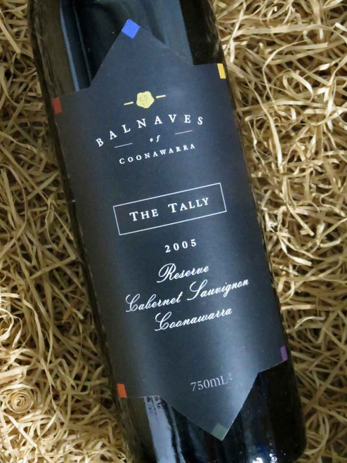 [SOLD-OUT] Balnaves The Tally Reserve Cabernet 2005