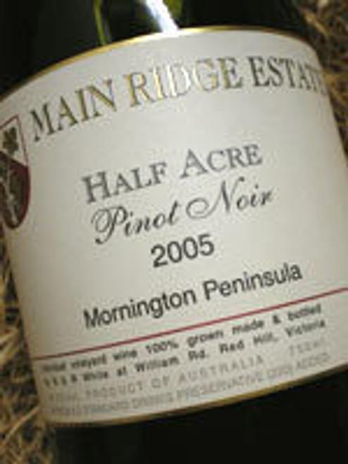 Main Ridge Half Acre Pinot Noir 2005