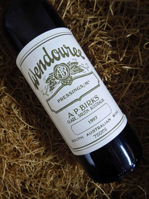 [SOLD-OUT] Wendouree Pressings Malbec 1997