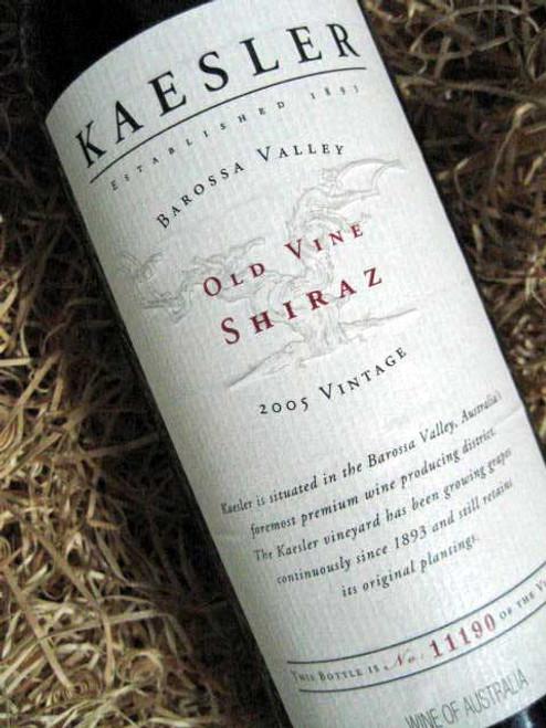 Kaesler Old Vine Shiraz 2005