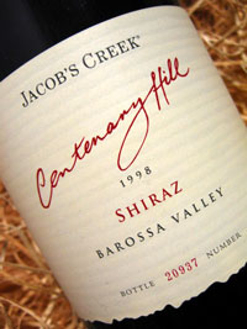 Orlando Jacobs Creek Centenary Hill Shiraz 2003