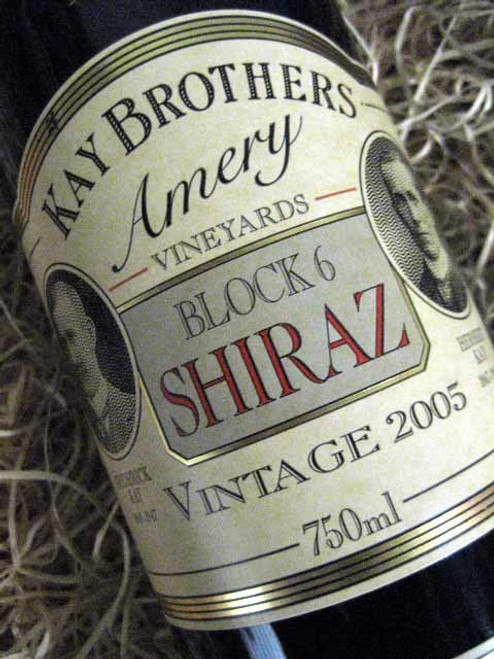 [SOLD-OUT] Kay Brothers Block 6 Shiraz 2005