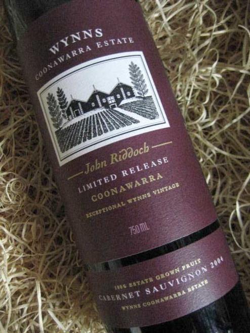 Wynns John Riddoch Cabernet Sauvignon 2004