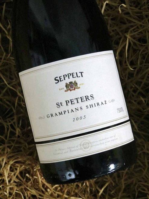[SOLD-OUT] Seppelt St Peters Shiraz 2005