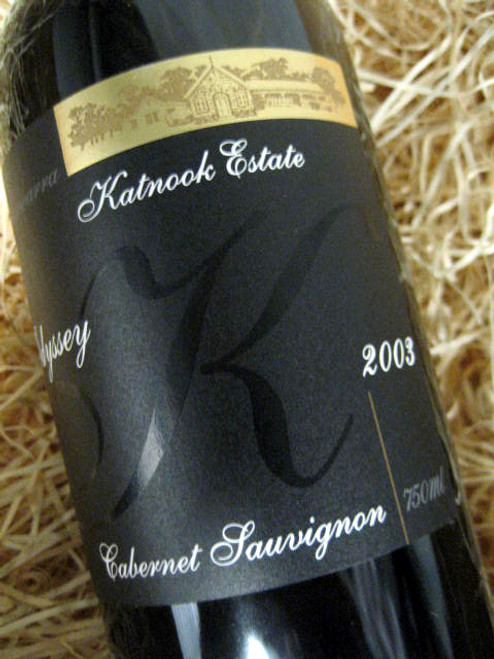 Katnook Estate Odyssey Cabernet Sauvignon 2003