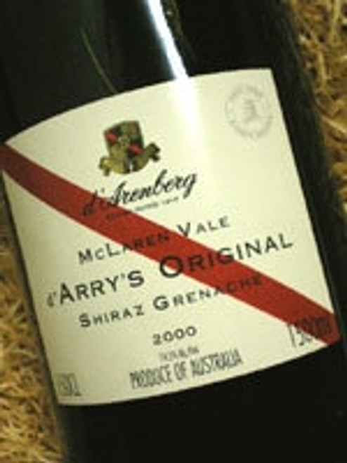 d'Arenberg Original Shiraz Grenache 2000 1500mL