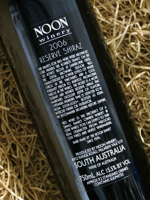 [SOLD-OUT] Noon Winery Reserve Shiraz 2006