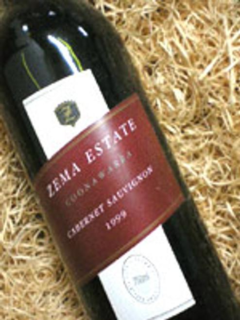 Zema Estate Coonawarra Cabernet Sauvignon 1999***