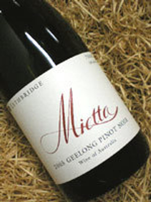 Lethbridge Mietta Pinot Noir 2005