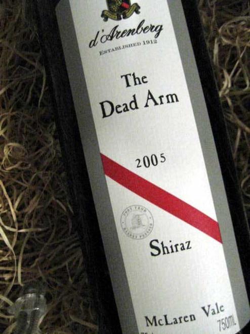 [SOLD-OUT] d'Arenberg Dead Arm Shiraz 2005