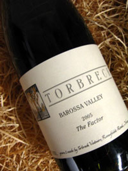 [SOLD-OUT] Torbreck The Factor Shiraz 2005