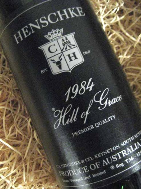 [SOLD-OUT] Henschke Hill of Grace 1984 (Base of Neck Level) (Minor Damaged Label)