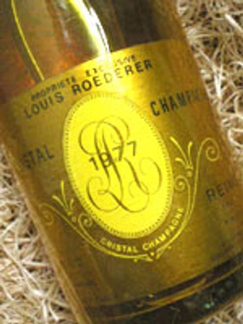 Louis Roederer Cristal Brut 1977