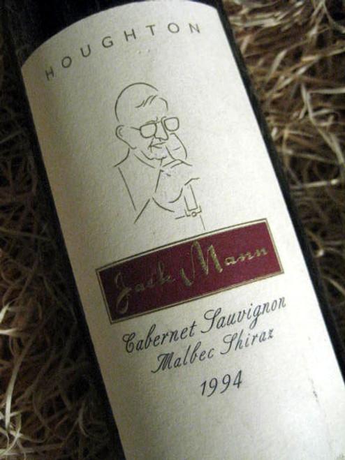 Houghton Jack Mann 1994