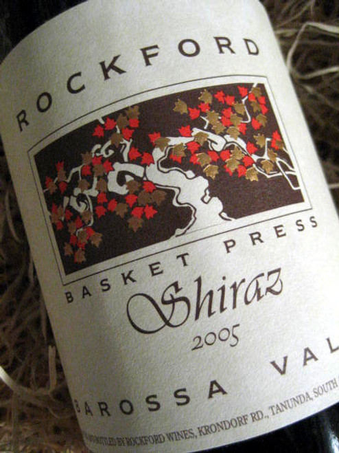 Rockford Basket Press Shiraz 2005