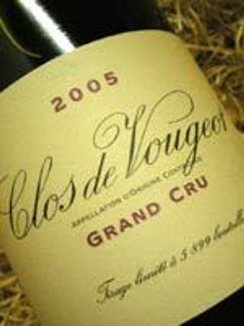 Domaine de la Vougeraie Clos De Vougeot 2005