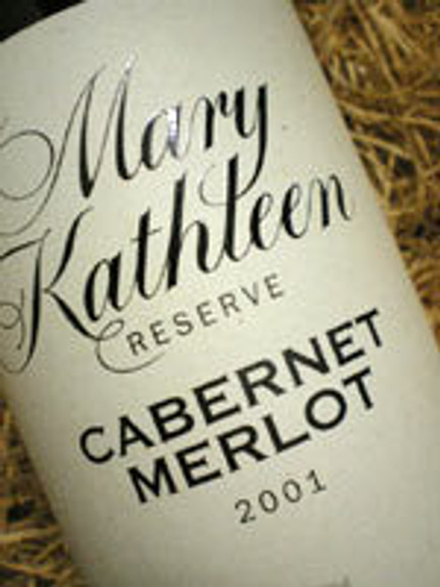 Coriole Mary Kathleen Reserve Cabernet Merlot 2001