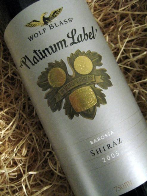 [SOLD-OUT] Wolf Blass Platinum Label Shiraz 2005