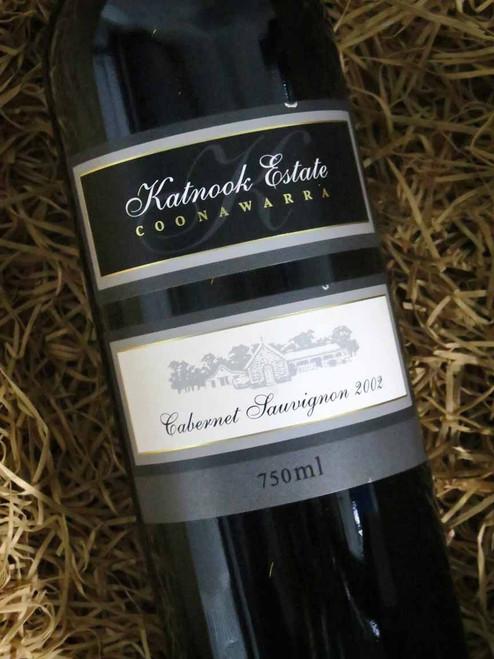 [SOLD-OUT] Katnook Estate Cabernet Sauvignon 2002 (Minor Damaged Label)