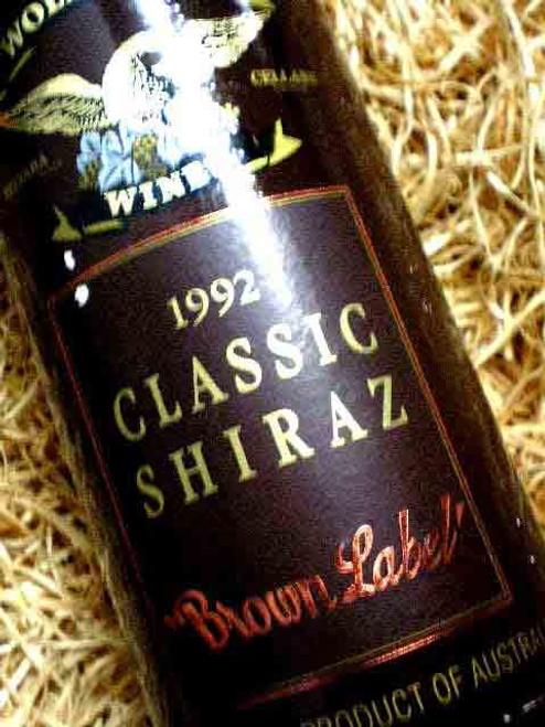 Wolf Blass Brown Label Shiraz 1992