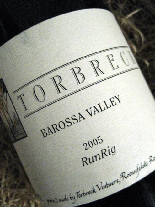 Torbreck Run Rig Shiraz 2005