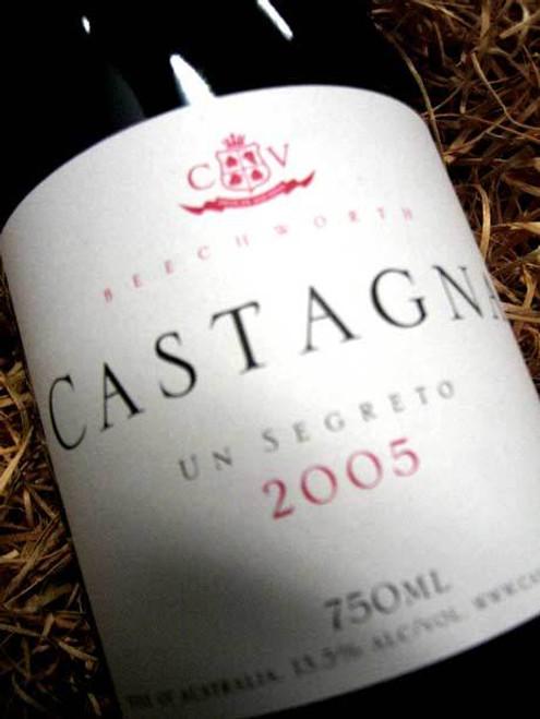 Castagna Segreto Sangiovese Shiraz 2005