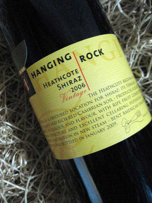 Hanging Rock Heathcote Shiraz 2006