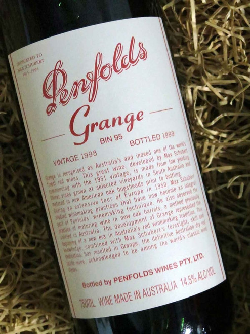 [SOLD-OUT] Penfolds Grange 1998