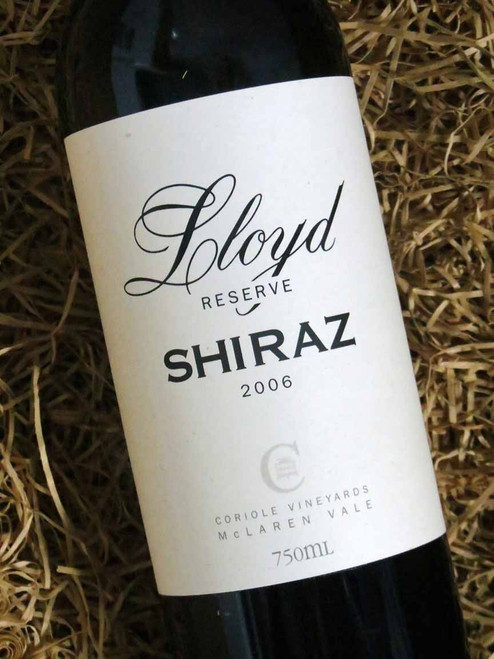 [SOLD-OUT] Coriole Lloyd Reserve Shiraz 2006