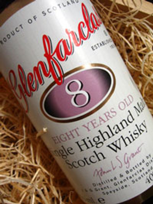 Glenfarclas Single Malt 8yo Whisky