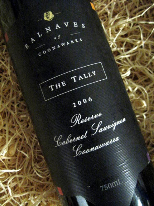 [SOLD-OUT] Balnaves The Tally Reserve Cabernet 2006