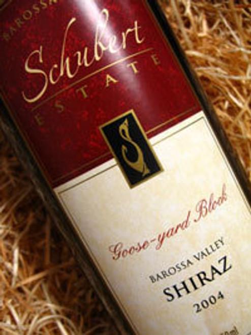 Schubert Estate Goose Yard Block Shiraz 2003 1500mL