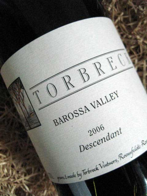 [SOLD-OUT] Torbreck Descendant Shiraz Viognier 2006