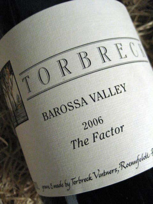 [SOLD-OUT] Torbreck The Factor Shiraz 2006