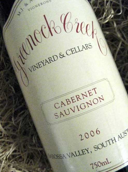 Greenock Creek Cabernet Sauvignon 2006