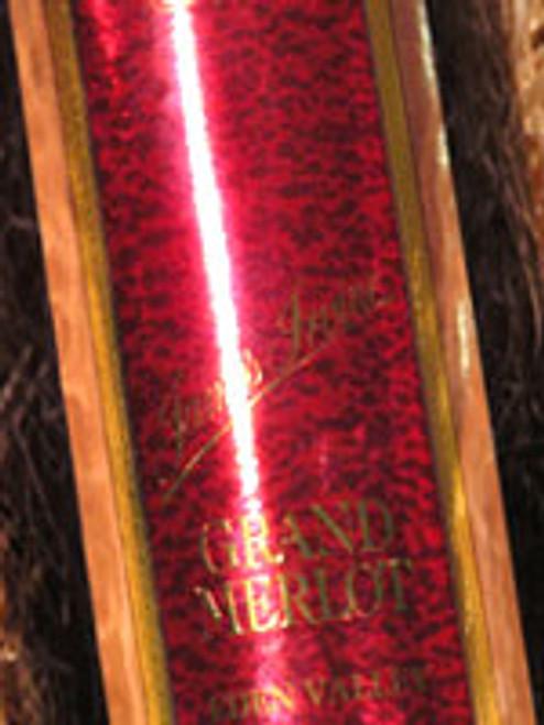 Irvine Grand Merlot (Signed) 1992