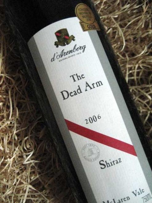 [SOLD-OUT] d'Arenberg Dead Arm Shiraz 2006