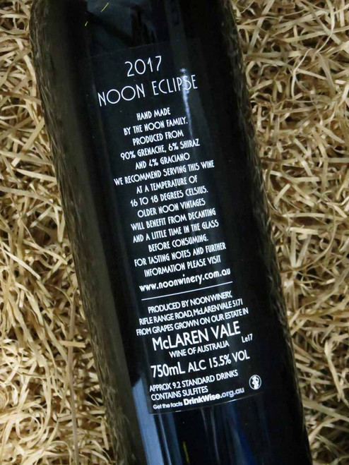 [SOLD-OUT] Noon Winery Eclipse Grenache Shiraz 2017