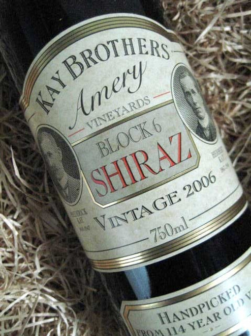 [SOLD-OUT] Kay Brothers Block 6 Shiraz 2006