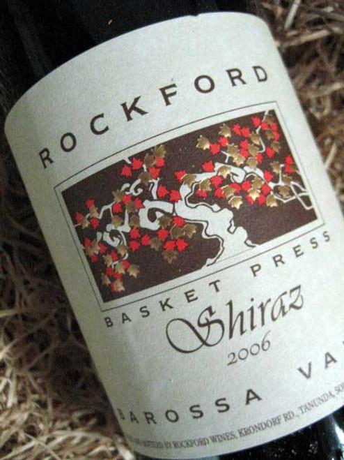 [SOLD-OUT] Rockford Basket Press Shiraz 2006