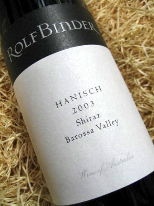 Rolf Binder Hanisch Shiraz 2003